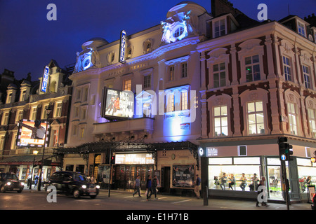 UK, England, London, Theatre District, Shaftesbury Avenue, - Stock Photo