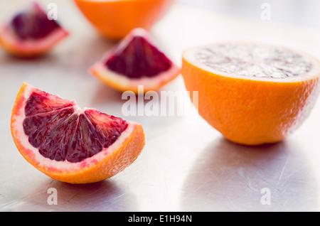 Blood Oranges - Stock Photo