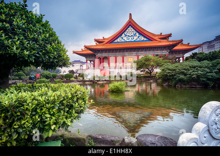 National Concert Hall at the Liberty Square in Taipei - Taiwan. - Stock Photo