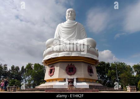 Buddha of Long Sơn, Long Sơn Pagoda, Nha Trang, Khanh Hoa Province, Vietnam - Stock Photo