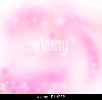 Art abstract pink holidays lights xmas background - Stock Photo