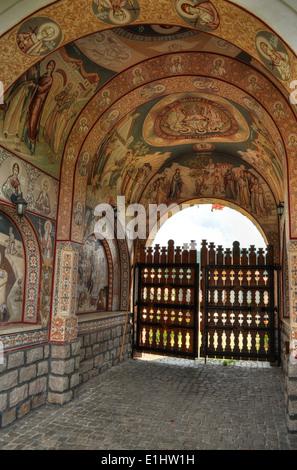 gate to heaven, monastery gate - Stock Photo