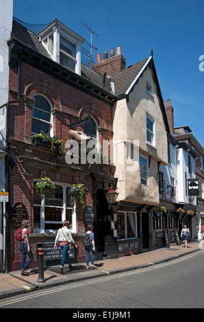 The Golden Slipper pub Goodramgate York North Yorkshire England UK United Kingdom GB Great Britain - Stock Photo