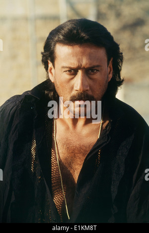 Portrait Of Jackie Shroff Indian Bollywood Film Actor Stock Photo