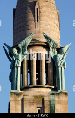 Sacred Heart church spire, Gentilly - Stock Photo
