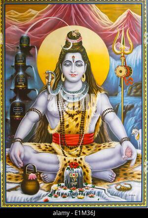 Sitting Shiva picture - Stock Photo