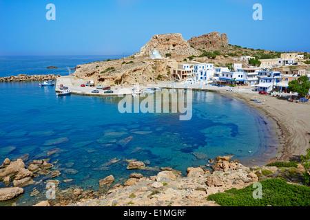 Greece, Dodecanese, Karpathos island, Finiki beach - Stock Photo