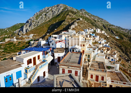 Greece, Dodecanese, Karpathos island, Olympos - Stock Photo