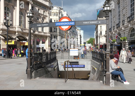 London Underground Station - Stock Photo