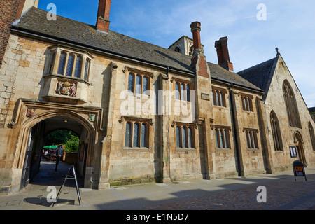 St Mary de Crypt Southgate Street Gloucester Gloucestershire UK - Stock Photo