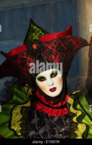 Italy, Veneto, Venice, Carnival - Stock Photo