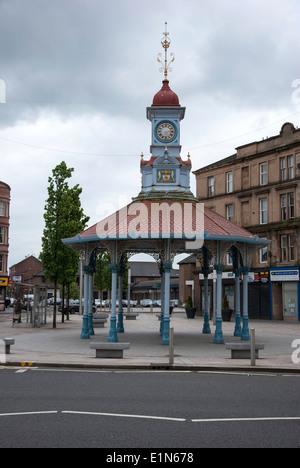 The Umbrella at Bridgeton Cross east end of Glasgow Scotland - Stock Photo