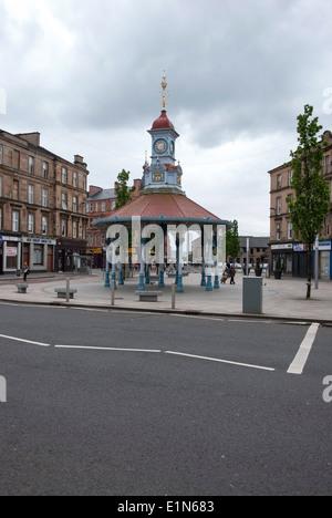The Seven Ways Bridgeton Cross Glasgow & The Umbrella - Stock Photo