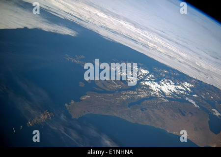 Tierra del Fuego and Cape Horn, the southernmost tip of South America - Stock Photo