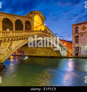 Rialto bridge, Venice - Stock Photo