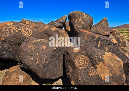 Painted Rock State Park, Arizona, USA - Stock Photo