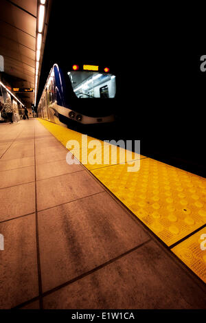 Train Station, Vancouver BC - Stock Photo