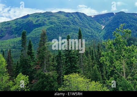 Appalachian Mountains, Parc de la Gaspesie, Quebec, Canada - Stock Photo