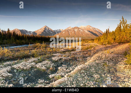 Quill Creek in Kluane National Park and Reserve, Yukon, Canada - Stock Photo