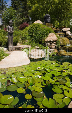 island pond buddhist single women The third buddhist council was convened in about  to the sixty thousand bhikkhus and to sixteen thousand women  standing on the water of the pond in the.