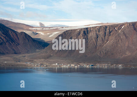 Grise Fiord, Nunavut, Canada. - Stock Photo