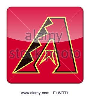 Arizona Diamondbacks Icon Logo Isolated App Button