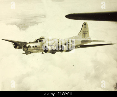 2nd Bomb Group; 15th Air Foce; 49th, 20th, 96th 429th Squadrons; B-17s - Stock Photo