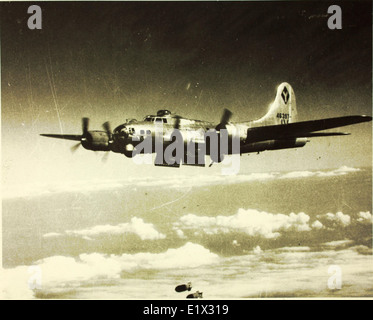 99th Bombardment Group; 11th Air Force; 99th; B-17s - Stock Photo