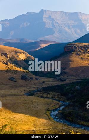 Giant's Castle, Drakensberg, Kwazulu-Natal, South Africa - Stock Photo