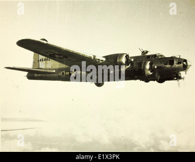 97th Bombardment Group; 15th Air Force; 99th; B-17s - Stock Photo