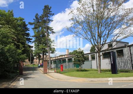 National Museum of Computing, Bletchley Park, Sherwood Drive, Milton Keynes, Buckinghamshire, England, Great Britain, - Stock Photo