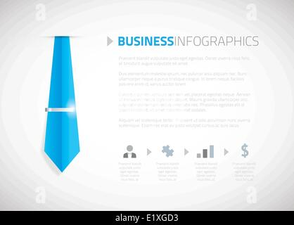 Business template brochure background vector - Stock Photo