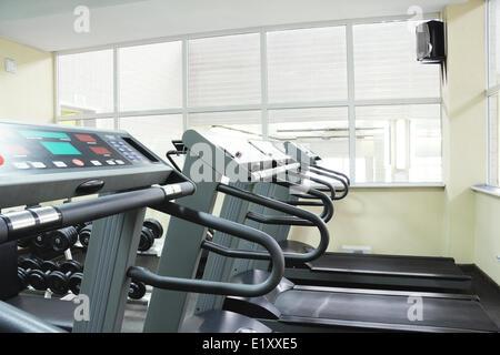 Treadmills - Stock Photo