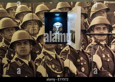 Exhibit inside DDR Museum ( East German Museum ) in Berlin Germany - Stock Photo