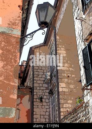 streets in Venice - Stock Photo