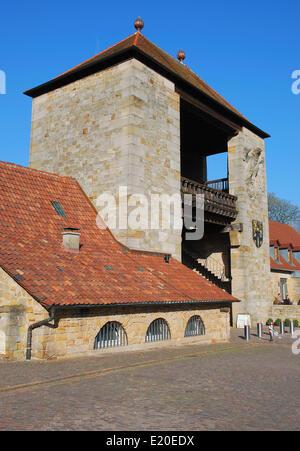 the German Wine Gate in Schweigen-Rechtenbach - Stock Photo