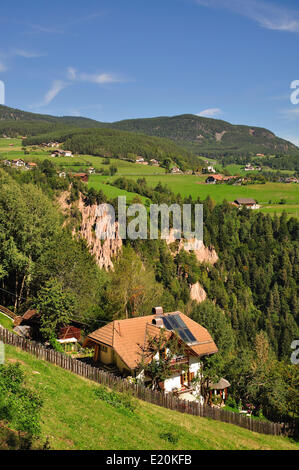 Renon,South Tyrol,Italy - Stock Photo