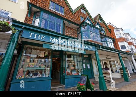 The Merchants House High Street Marlborough Wiltshire UK - Stock Photo