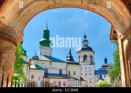 Kirillo-Belozersky Monastery, Goritsy, Volga Baltic - Stock Photo