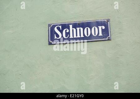 Bremen - Schnoor quarter - Stock Photo