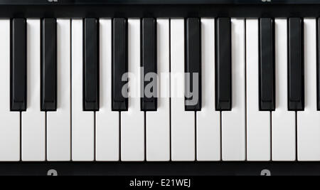 electronic piano keyboard - Stock Photo
