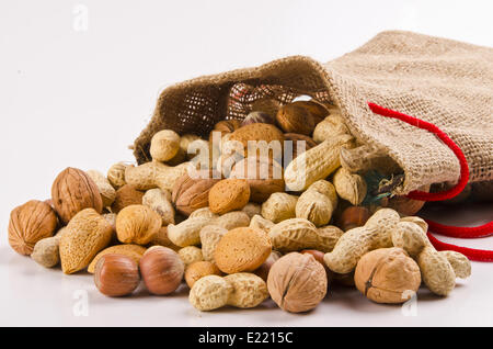 Nuts and cores - Stock Photo
