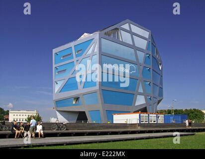 Humboldt Box, Deutschland, Berlin / Germany - Stock Photo
