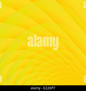 Set of abstract cells of yellow color - Stock Photo
