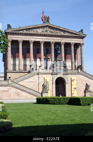 Alte Nationalgalerie, Old National Gallery, Berlin - Stock Photo