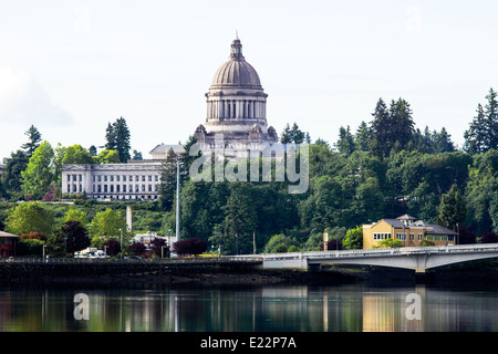 Capitol building in Olympia, capital of the State of Washington - Stock Photo