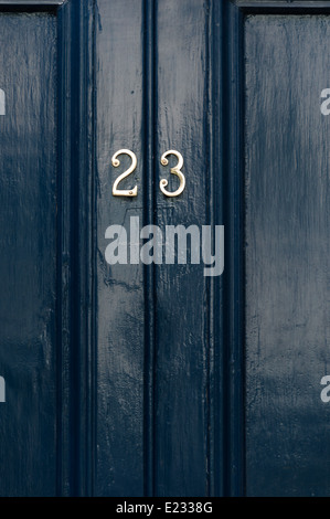 ... Door number 23 close up - Stock Photo & Golden number twenty three number 23 and the word years against the ...
