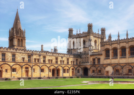Christ Church College, Oxford, Oxfordshire, England, United Kingdom - Stock Photo