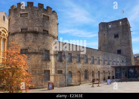 Oxford Castle, Oxford, Oxfordshire, England, United Kingdom - Stock Photo