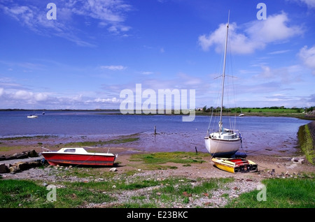 Ravenglass Beach and Bay, Eskdale, Lake District, Cumbria, England, UK - Stock Photo